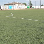 El camp municipal de la Roureda tindrà nova gespa artificial al mes d'abril