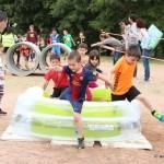 Malgrat la pluja la Festa de l'Esport 2016 sorprèn amb la cursa d'obstacles