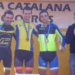 El taradellenc Enric Bau fa podi a Manresa en el campionat de catalunya de ciclocròs
