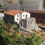 El Santuari de Bellmunt es pot veure fet pessebre a la capella Santa Llúcia