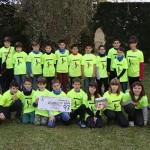 Els alumnes de 4t del Col·legi Sant Genís i Santa Agnès lliuren 1.100 euros a la campanya Arnau 97