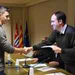 Marc Sayós guanya el 9è Premi Ajuntament de Taradell al millor treball de recerca