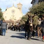 Uns 80 carruatges al Passant dels Tres Tombs 2017 de Taradell amb canvi de recorregut
