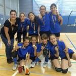 L'equip femení aleví de voleibol del Club Parc d'Esports guanya la final territorial dels Jocs Esportius