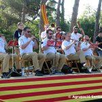 Gran ambient sardanístic en el 71è Aplec de la Sardana de Taradell