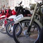 Exposició de motos antigues de Jaume Serra