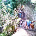 17 joves han ajudat a restaurar les fonts Sant Jaume i del Carme de Taradell