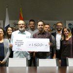 L'Envelat 2017 fa una donació econòmica de 1.500 euros a l'Associació Sant Tomàs