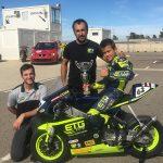 Blai Trias guanya a Alcarràs i opta al títol de la Copa catalana de promovelocitat