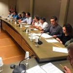 Taradell converteix el ple municipal en un acte de suport al Referèndum i als representants polítics taradellencs