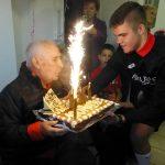 El taradellenc Lluís Reig celebra els seus 100 anys d'edat