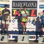 Jordi Tulleuda guanya la Copa Barcelona de trial en categoria infantil