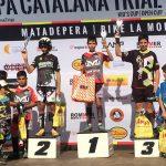 Quatre taradellencs acaben la Copa catalana de trial al podi