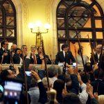 Lluís Verdaguer representa Taradell al Parlament el dia que es proclama la República de Catalunya