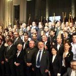 L'alcalde de Taradell entre els 200 alcaldes i alcaldesses que van viatjar a Brussel·les per donar suport a Puigdemont i el Govern exiliat