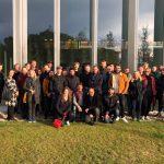 Una trentena d'arquitectes danesos visiten l'EAS Taradell