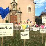Cors de ganxet a Taradell amb motiu del Dia internacional contra la violència de gènere
