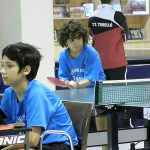 Comença el Campionat Intercomarcal escolar de tennis taula