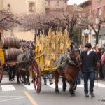 Els Tonis de Taradell treuen al carrer el museu de carros davant la mirada del Conseller Jordi Turull