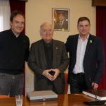 Mossèn Antoni Pladevall és nomenat fill adoptiu de Tona