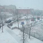 La nevada a Taradell sorprèn amb uns 6 centímetres i complica la mobilitat