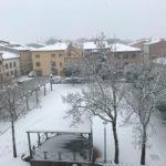 Aquest dimecres la nevada ha deixat 10 centímetres més de gruix a Taradell