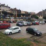 El CDR Taradell entra firmes a l'Ajuntament per demanar batejar l'aparcament de la Carpa com a Plaça 1 d'octubre