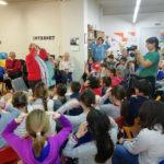 El col·legi Sant Genís i Santa Agnès tanca la 2a edició del projecte 'Avi, àvia, canta'm una cançó'