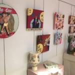 Set taradellenques exposen les seves manualitats a Can Costa
