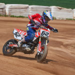 Blai Trias acaba segon a la prova inaugural del Dirt Track de Campions 2018