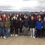 24 alumnes de l'INS Taradell han marxat avui cap al municipi francès de Contres