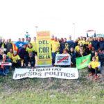 Tres taradellencs arriben a la presó d'Estremera en la iniciativa de córrer des de Catalunya pels presos polítics