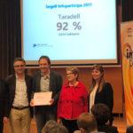 L'Ajuntament de Taradell rep el guardó Segell Infoparticipa 2017 per la transparència de la web