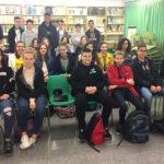Els alumnes francesos de Contres tornen l'intercanvi a l'INS Taradell