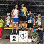 Jordi Aguilera puja al podi a la modalitat Trail de la Cursa pel cor de la Fageda 2018