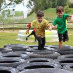 La cursa d'obstacles acapara el protagonisme a la 10a Festa de l'esport de Taradell