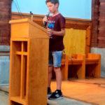 El taradellenc Guillem Costa guanya el segon premi del certamen Lectura en veu alta de Sant Julià