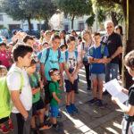 S'inauguren tres camins escolars a Taradell fins al col·legi Sant Genís i Santa Agnès