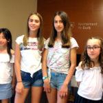 Quatre alumnes del Col·legi Sant Genís i Santa Agnès premiats al Concurs literari de Gurb