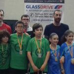 Unai Luque i Albert Urgell participen en diferents competicions de tennis taula