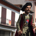 Els Geganters de Taradell estrenen el gegantó Carles de Cruïlles i Vilademany
