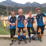 Els germans Freixas pugen al podi a la cursa d'orientació d'Olot