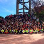 La caminada intergeneracional del Col·legi Sant Genís i Santa Agnès compleix 10 anys