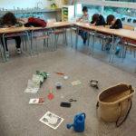 L'escola Les Pinediques participa en un projecte escolar d'hort ecològic