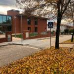 Obres de millora de l'accés a la Residència Vilademany de Taradell
