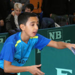 Arnau Sánchez i Jordi Forcada participen als torneigs de tennis taula de Sant Quirze Safaja