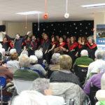 Tastet de Gospel recull 368 euros en el concert solidari a la residència Vilademany