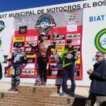 Arnau Lledó suma el primer podi del 2019 a la prova de Ponts del campionat català de motocròs