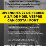 L'ANC Taradell i ERC Taradell presenten divendres l'acte en format audiovisual per denunciar la justícia espanyola