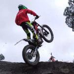 Jordi Povedano debuta amb trial en moto amb un quart lloc al Trial de la Pinya